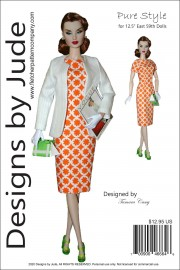 "Pure Style for 12.5"" East 59th Dolls PDF"