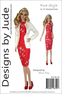 "Pure Style Pattern for 16"" Modsdoll Printed"