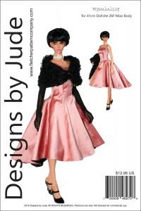Reminisce for 41cm Dollshe Amanda 26F Printed