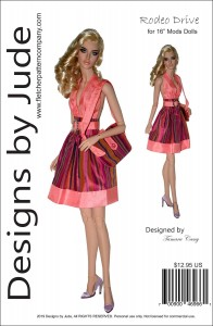 """Rodeo Drive for 16"""" Modsdoll Dolls Printed"""