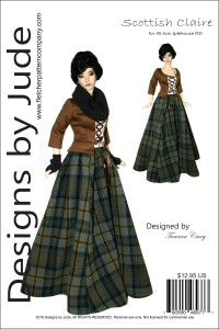 Scottish Claire for 45.5cm Iplehouse FID Printed
