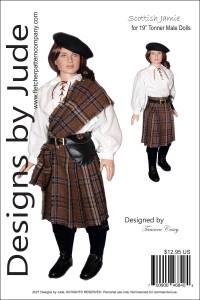 "Scottish Jamie for 19"" Male Tonner Dolls PDF"