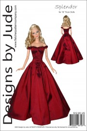 "Splendor for 16"" Ficon Dolls PDF"