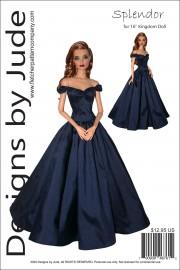 "Splendor for 16"" Kingdom Doll PDF"