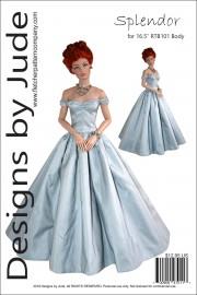 """Splendor Gown for 16.5"""" RTB101 Body PDF"""