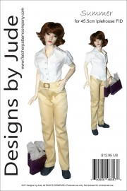 Summer for 45.5cm Iplehouse FID Dolls PDF