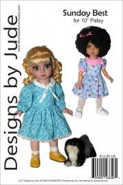 "Sunday Best for 10"" Patsy Doll PDF"
