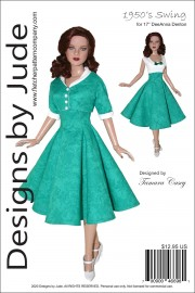 """1950's Swing for 17"""" Super Deluxe DeeAnna PDF"""