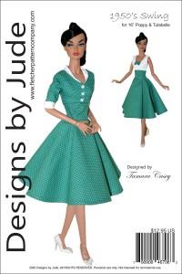 """1950's Swing for 16"""" Poppy Parker & Tulabelle PDF"""