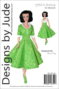 1950's Swing for Silkstone Barbie Printed