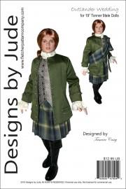 "Outlander Wedding Jamie for 19"" Tonner Male Dolls PDF"