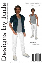 """Weekend Wear for 17"""" Kinsman Dolls PDF"""