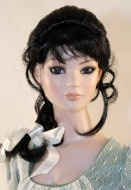 Amber Black Braid Wig size 7-8, American Model