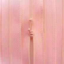 """12"""" Baby Pink Zipper"""