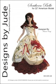 """Southern Belle for 22"""" American Model PDF"""
