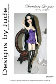 """Bewitching Lingerie for 17"""" Evangeline PDF"""