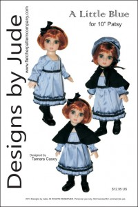 """A Little Blue for 10"""" Patsy & Ann Estelle PDF"""