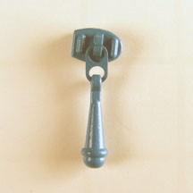 Pastel Blue Zipper Slider