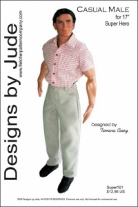 "Casual Male for 17"" Super Hero Dolls PDF"