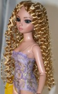 Christine, Synthetic Mohair Wig, Size 6-7, Golden Strawberry Blonde