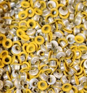 "1/8"" Daffodil Yellow Eyelets"
