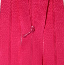 "4/12"" Dark Pink Zipper"