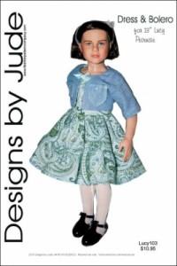 Dress & Bolero for Lucy Pevensie Printed