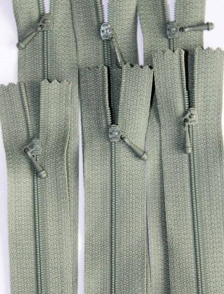 """12"""" Driftwood Green Zipper"""