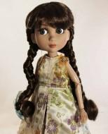 Dutch Girl Brown size 8-9, Patience, Cissy & Kaye Wiggs MSD