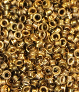 "1/8"" Antigue (Tarnished) Gold Eyelets"