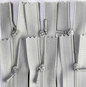"12"" Fog Grey Zipper"
