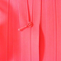 "12"" Deep Fushia Zipper"