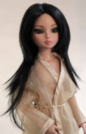 Jade, Synthetic Mohair Wig, Size 6-7, Off Black