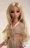 Jade, Synthetic Mohair Wig, Size 6-7, Golden Strawberry Blonde