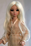 Jade, Synthetic Mohair Wig, Size 6-7, White Blonde