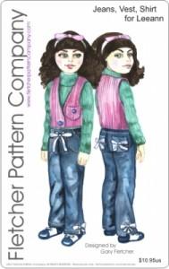 PDF Jeans Vest Shirt for Leeann