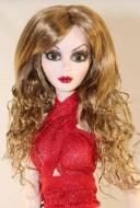 Lovely Ginger Wig  size 5-6 (runs big), Ellowyne