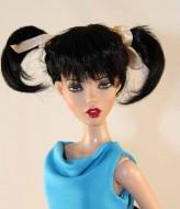 Mei Black Pony Tail Wig  size 5-6, Deja Vu, Senson