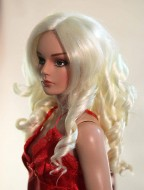 Paige, Synthetic Mohair Wig, Size 4-5, White Blonde