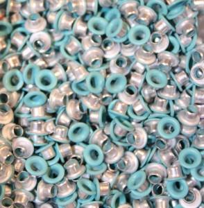 """1/8"""" Pale Turquoise Eyelets"""