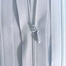 "12"" Pastel Blue Zipper"