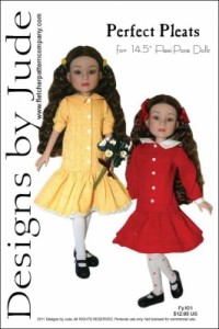 Perfect Pleats for 14.5 Flexi Pose Dolls Printed