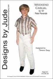 "Weekend Casual for 19"" Peter Pevensie PDF"