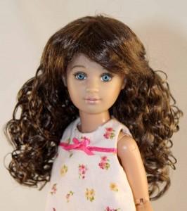 Sassy Dark Brown black Wig  size 5-6
