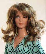 Shaine, Synthetic Mohair Wig, Size 4-5, Ginger Brown