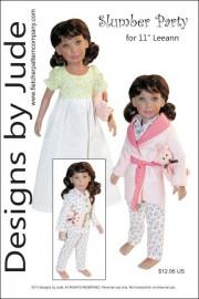 "Slumber Party for 11"" Leeann Dolls PDF"