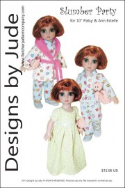 "Slumber Party for 10"" Patsy PDF"