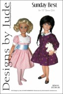 "Sunday Best for 12"" Senson Dolls Printed"