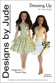 Dressing Up for Teen Dolls Printed