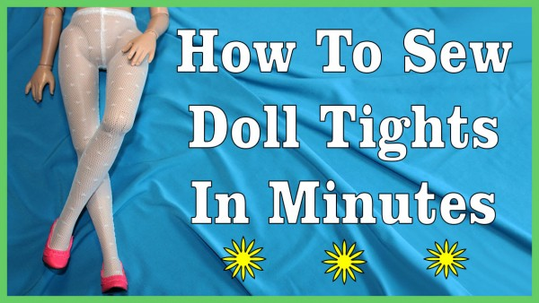 """Free Tights Template for 16"""" Fashion Dolls PDF"""